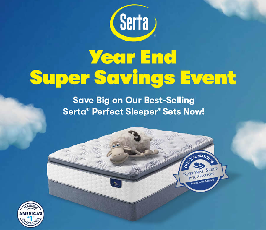 Serta Perfect Sleeper Super Savings
