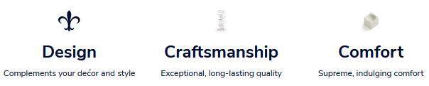 Design, Craftmanship, Comfort