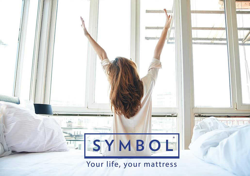 Symbol Mattress. Providing comfort and value for a great night's sleep.