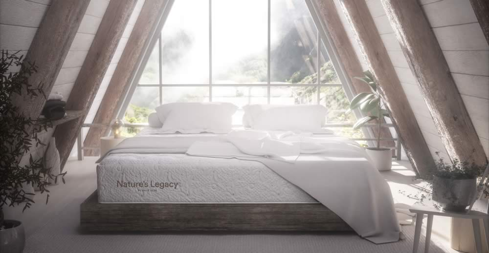 White Dove Nature's Legacy Mattresses